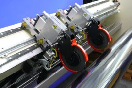 Система резки «Simu-Flash» , минимальный формат резки 50 мм.
